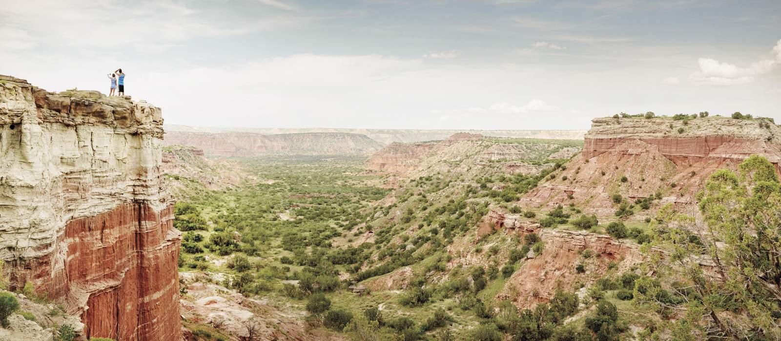 Palo Duro Canyon in Texas