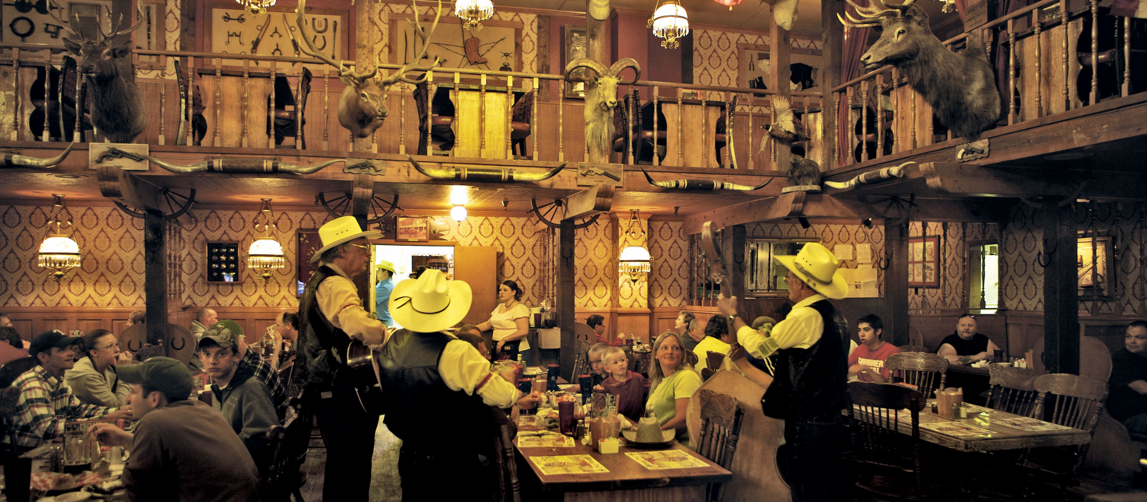 Big Texan Steak Ranch Restaurant in Amarillo, Texas