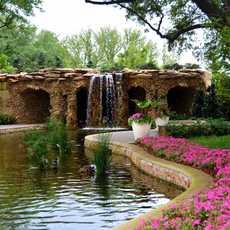 Der Dallas Arboretum and Botanical Garden in Dallas