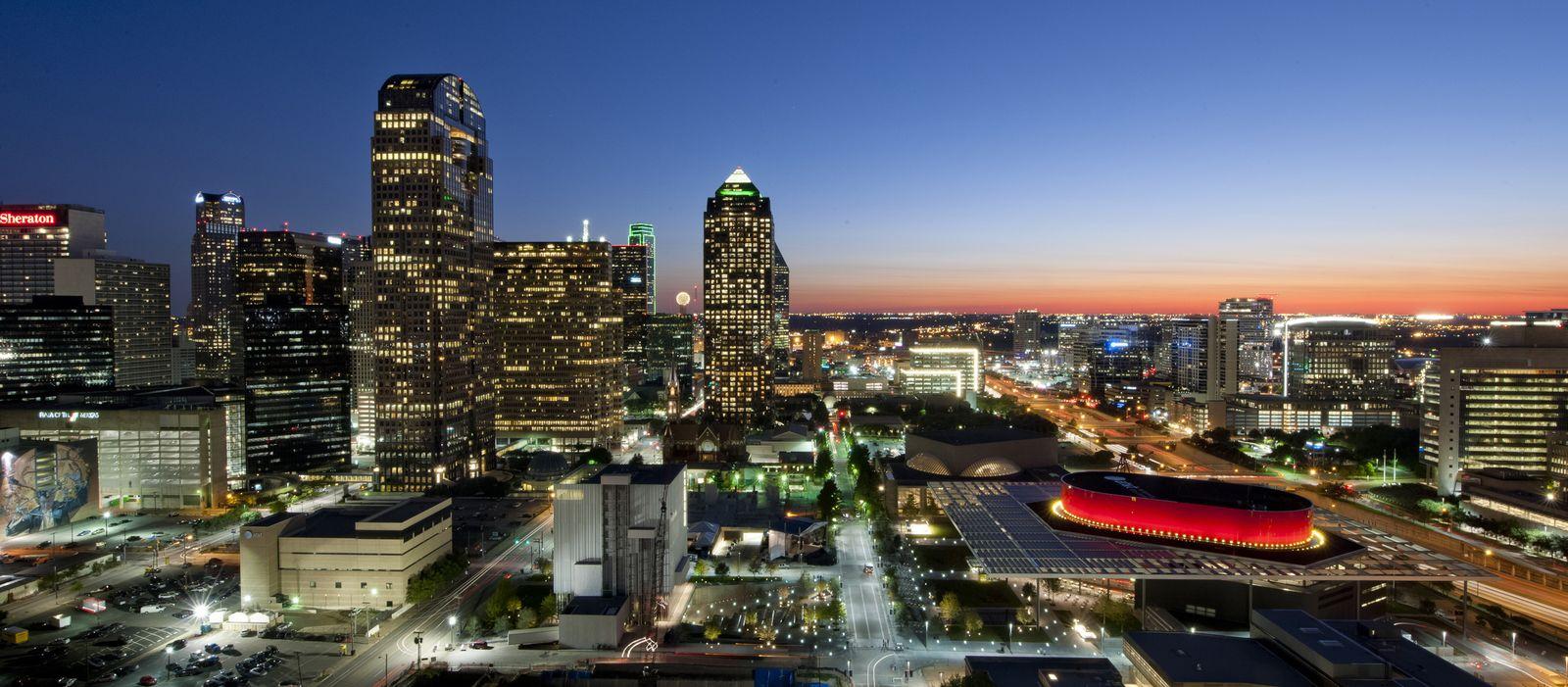 Impressionen Dallas, Arts District Aerial