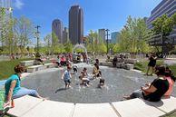 Der Klyde Warren Park in Dallas