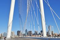 Die Margaret Hunt Hill Bridge in Dallas