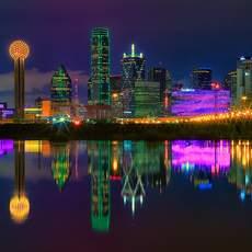 Naechtliches Dallas