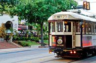 Die Trolley M-Line in Dallas