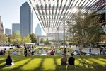 Winspear Opera House and Sammons Park