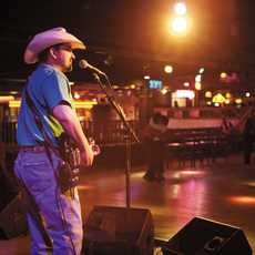 Musikauftritt in Billy Bobs Stockyards in Ford Worth, Texas