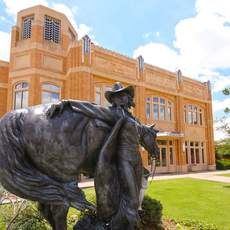 Das National Cowgirl Museum and Hall of Fame in Fort Worth