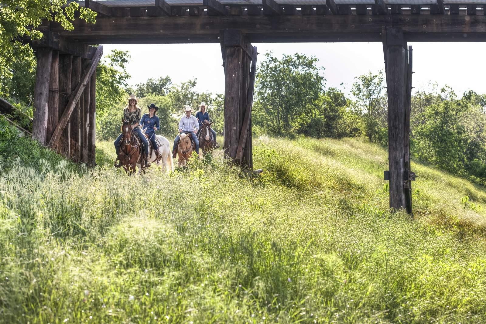 Ausritt durch die Natur Fort Worths