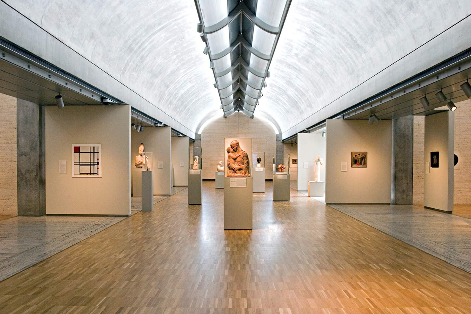 Das Kimbell Art Museum in Fort Worth
