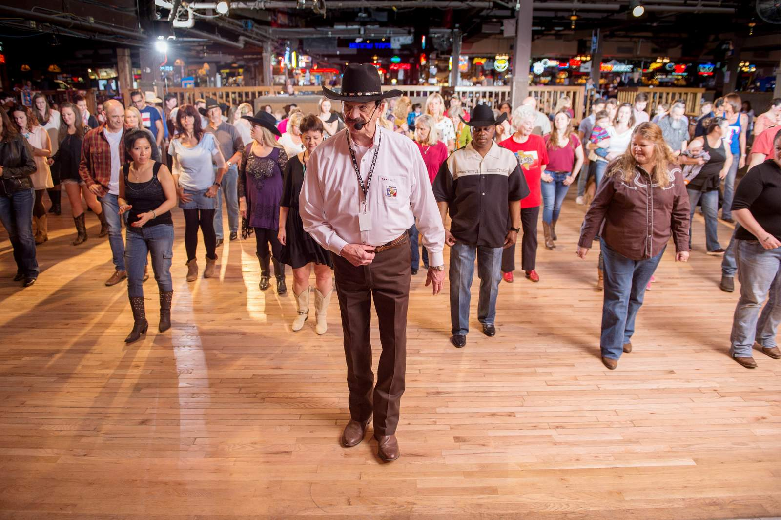 Line Dance in Fort Worth
