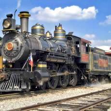 Lokomotive Puffy
