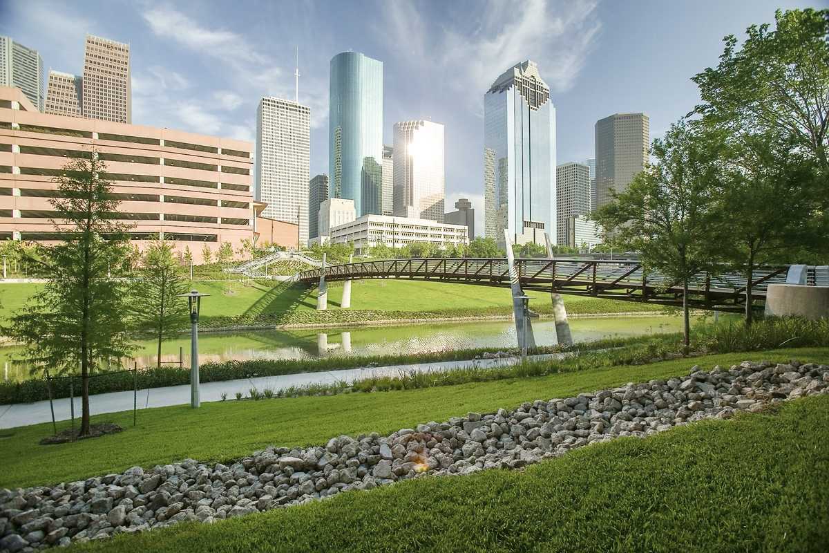 Die Sabine Promenade in Houston Downtown