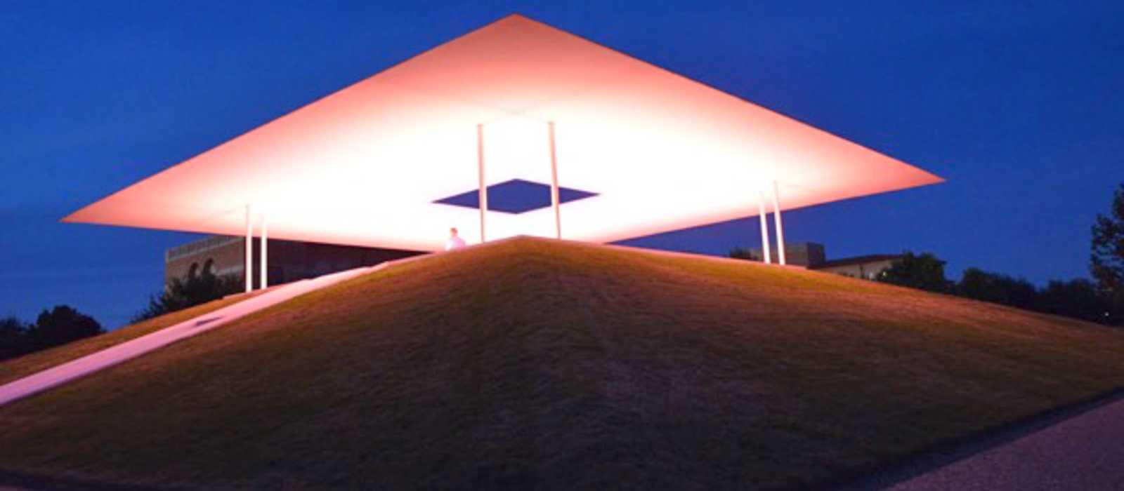 Lichterspiel im Skyplace der Rice University
