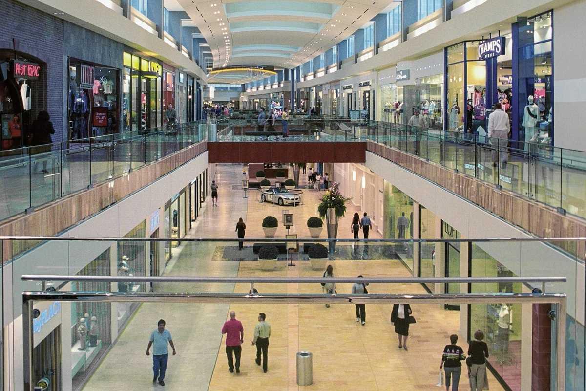 """""""The Galleria"""" Einkaufszentrum in Houston"""