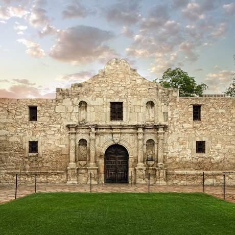 Missionssstation Alama in San Antonio, Texas