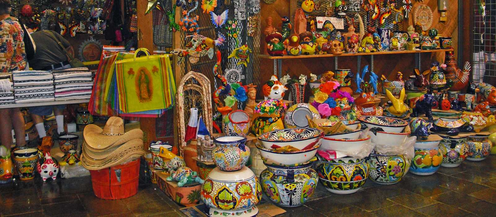 Verkaufsstand im El Mercado