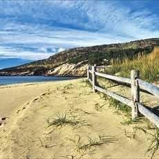 Strand am Acadia National Park
