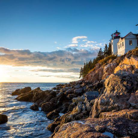 Bass Harbor Lighthouse im Acadia National Park, Maine