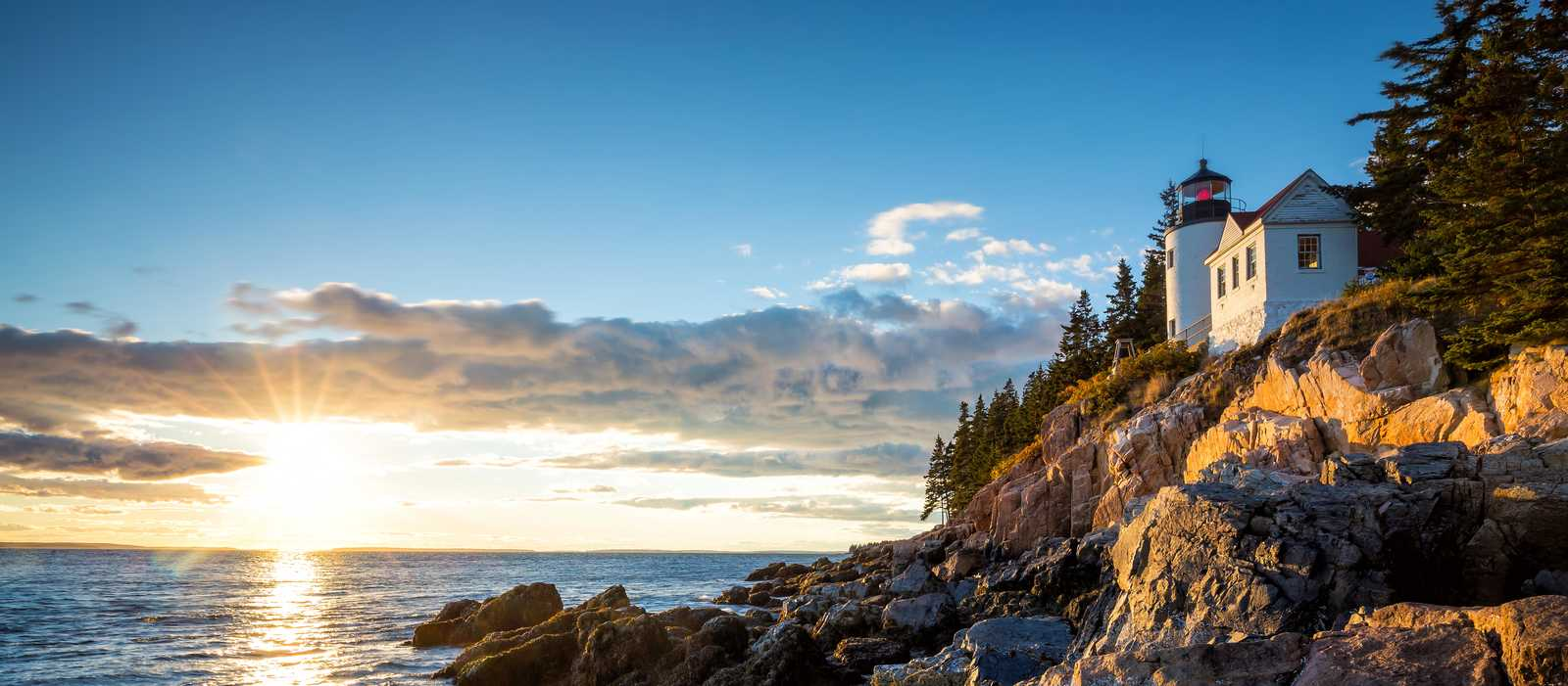 Bass Harbor Lighthouse im Acadia National Park, Maine