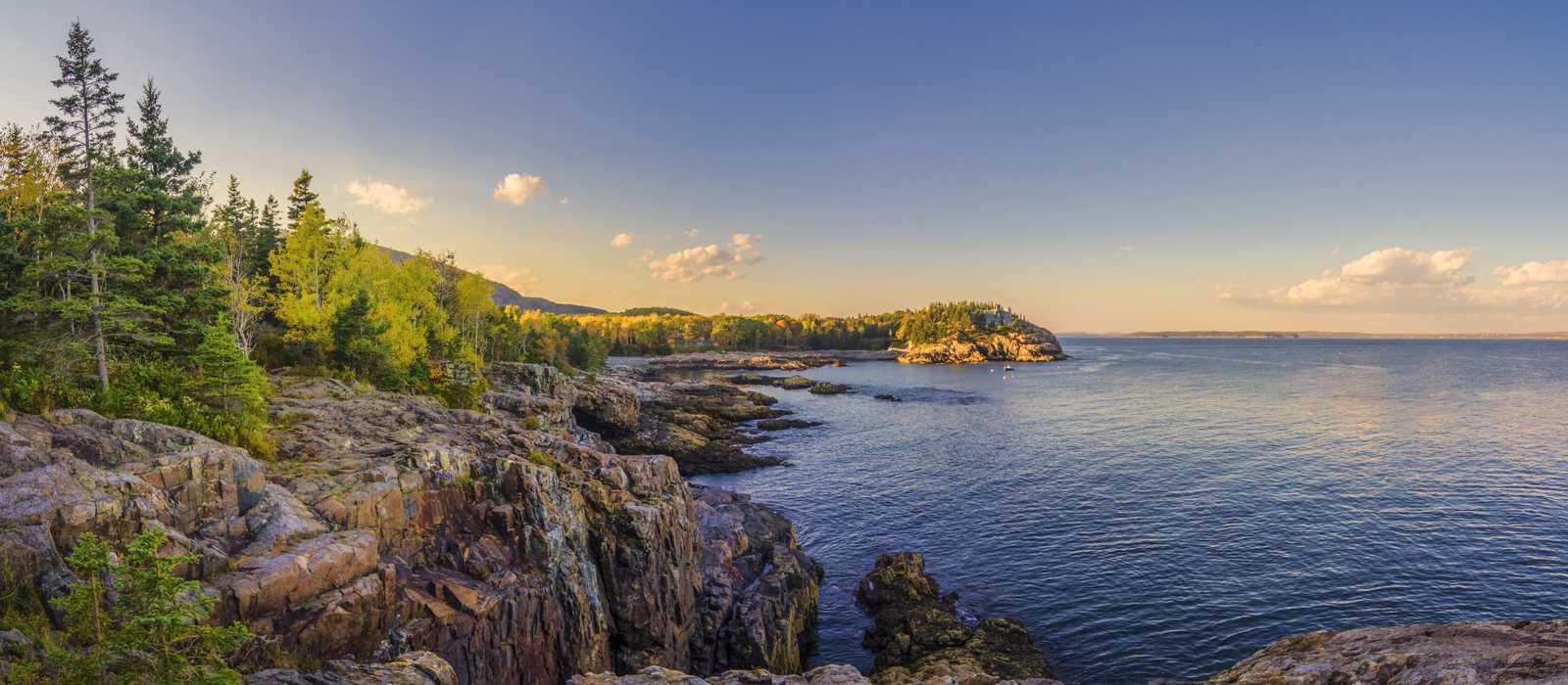 Der Acadia-Nationalpark ist ein 19.000 ha großes Erholungsgebiet an der Atlantikküste von Maine