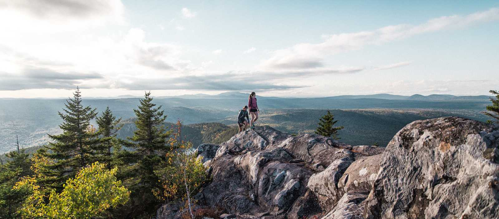 Herrliche Wanderung in Maine