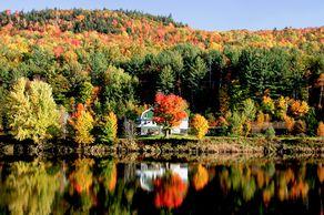Die Natur von Rumford in Maine genießen