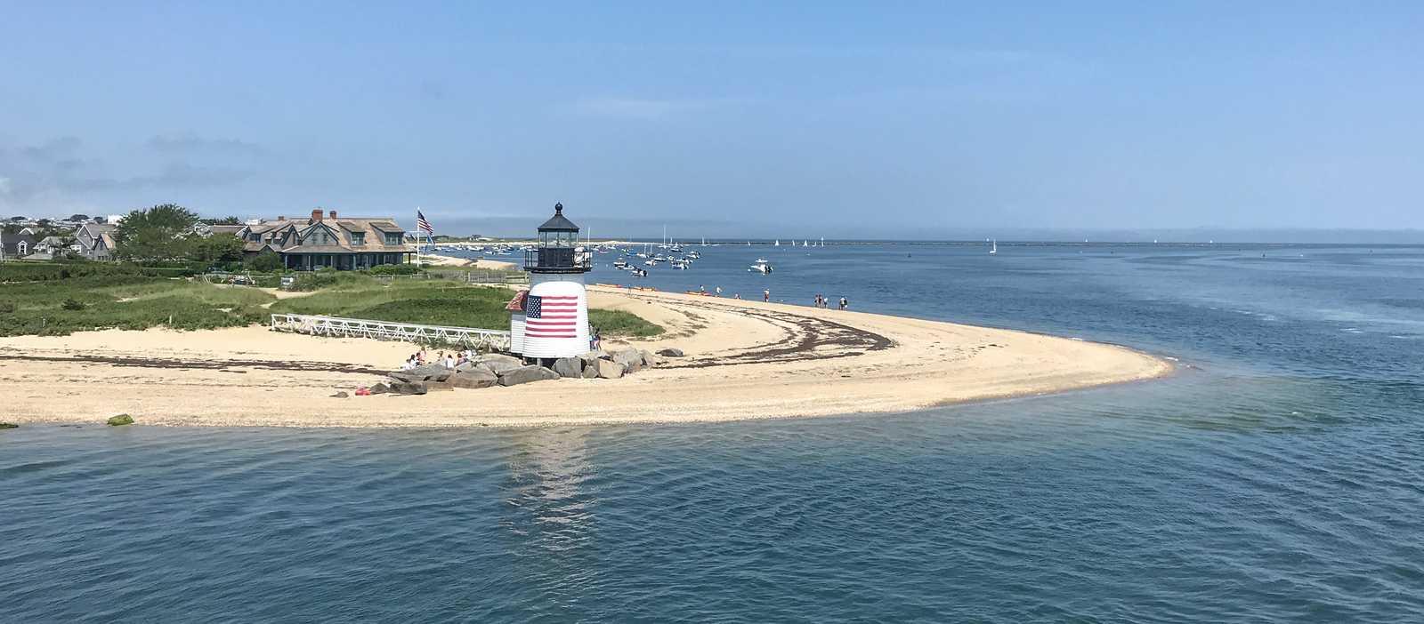 Blick auf Nantucket