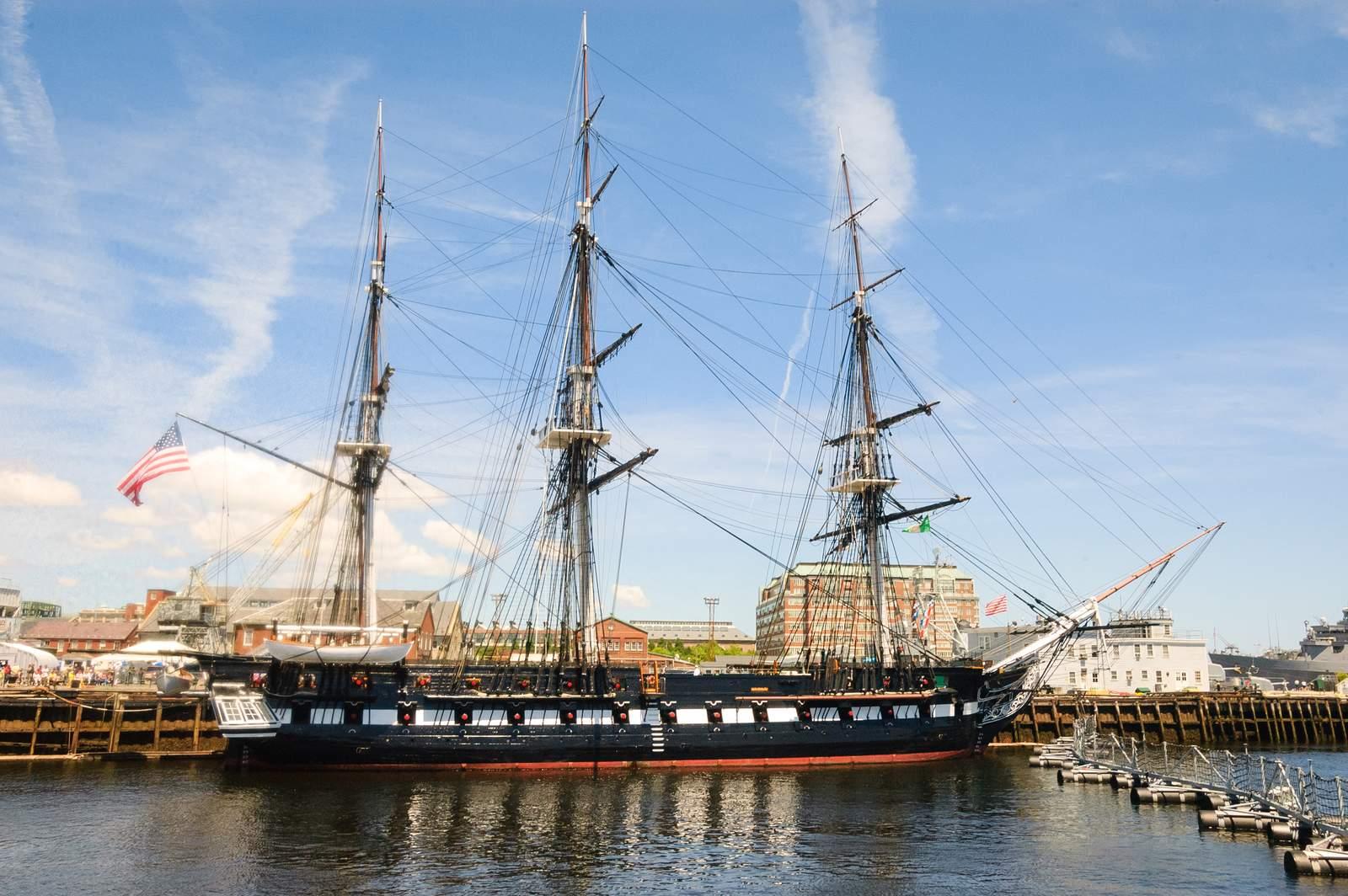 USS Constitution, Charlestown, Boston, Massachusetts