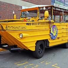 Vehikel der Boston Duck Tour