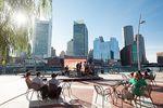Boston Urlaub: Die Skyline von Boston
