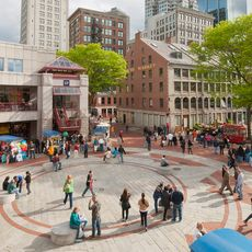 Faneuil Hall Marketplace und Quincy Market