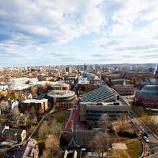 Gebäude der Harvard University