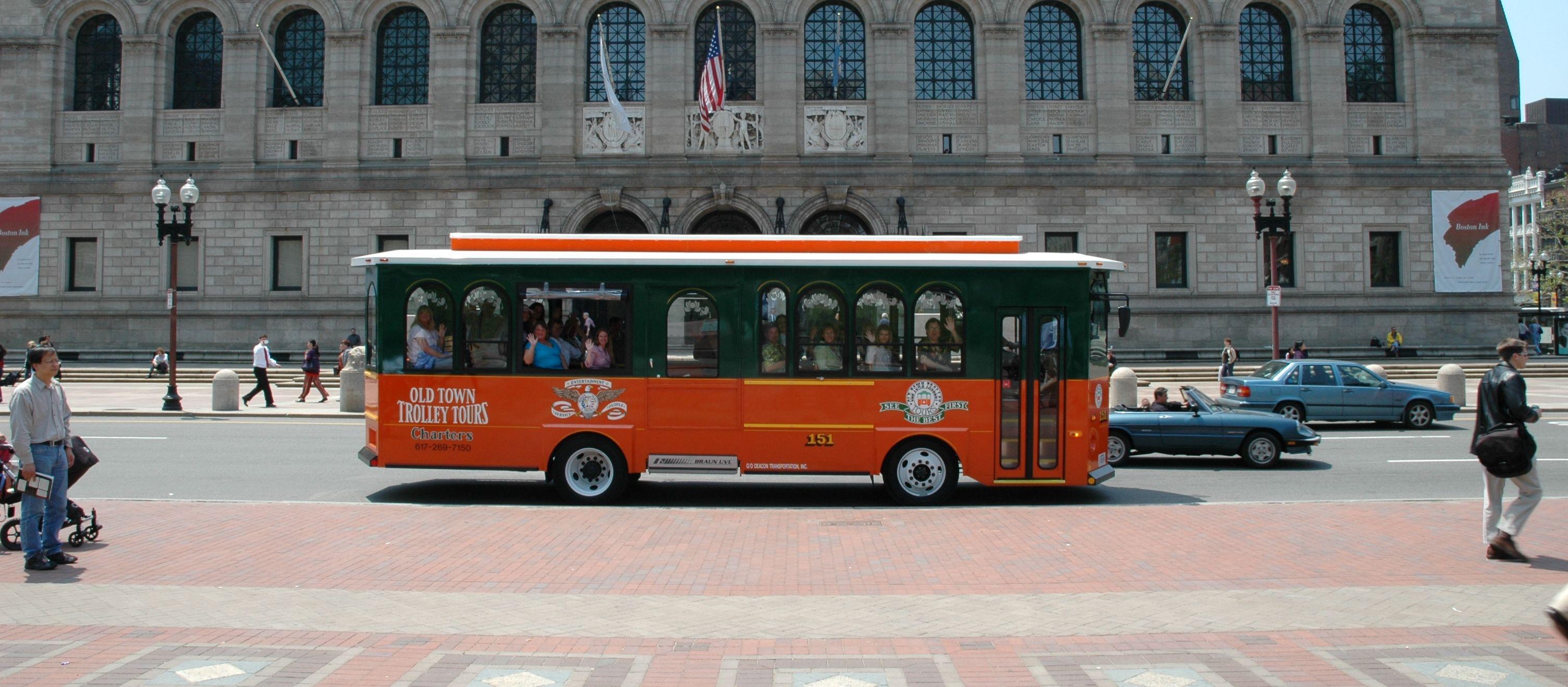 Old Town Trolley Boston