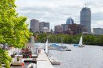 Boston Urlaub: Skyline und Hafen von Boston
