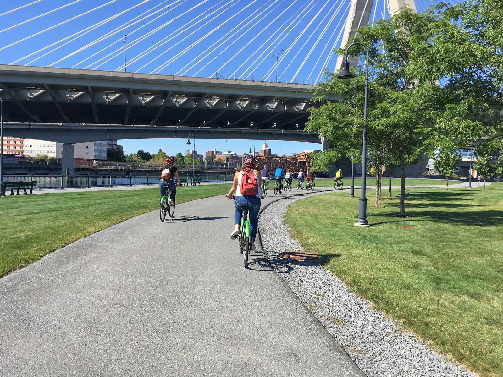 """Fahrradtour durch Boston mit """"Urban AdvenTours"""""""