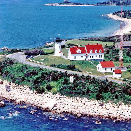 Nobska Lighthouse auf Cape Cod