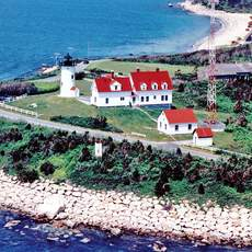 Nobska Lighthouse auf Cape Cod