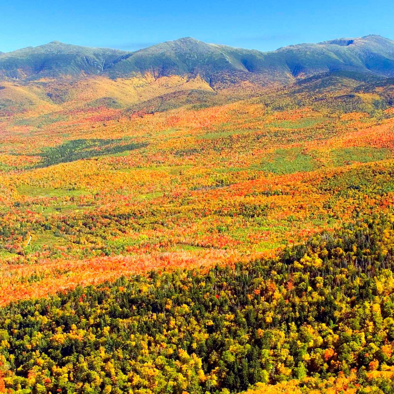 Indian Summer in New Hampshire