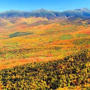 Natur und Landschaften der Neuenglandstaaten der USA