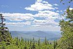 Die White Mountains in Vermont in den Neuenglandstaaten USA
