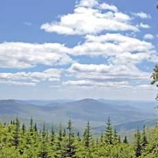 Blick auf die White Mountains