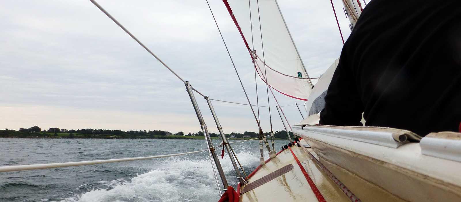 An Bord der Sightsailer