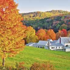 Indian Summer in Vermont
