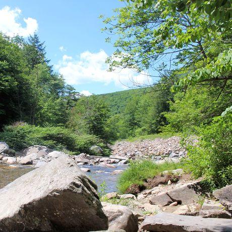New Haven River in Bristol, Vermont