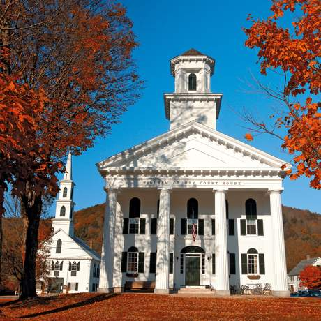 Windham Country Corthouse in Vermont