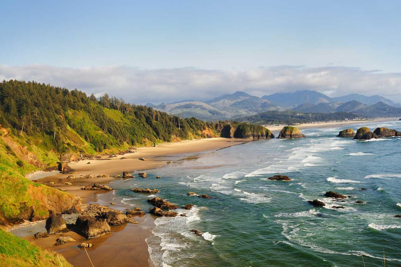 Traumhafte Küstenabschnitte in Oregon