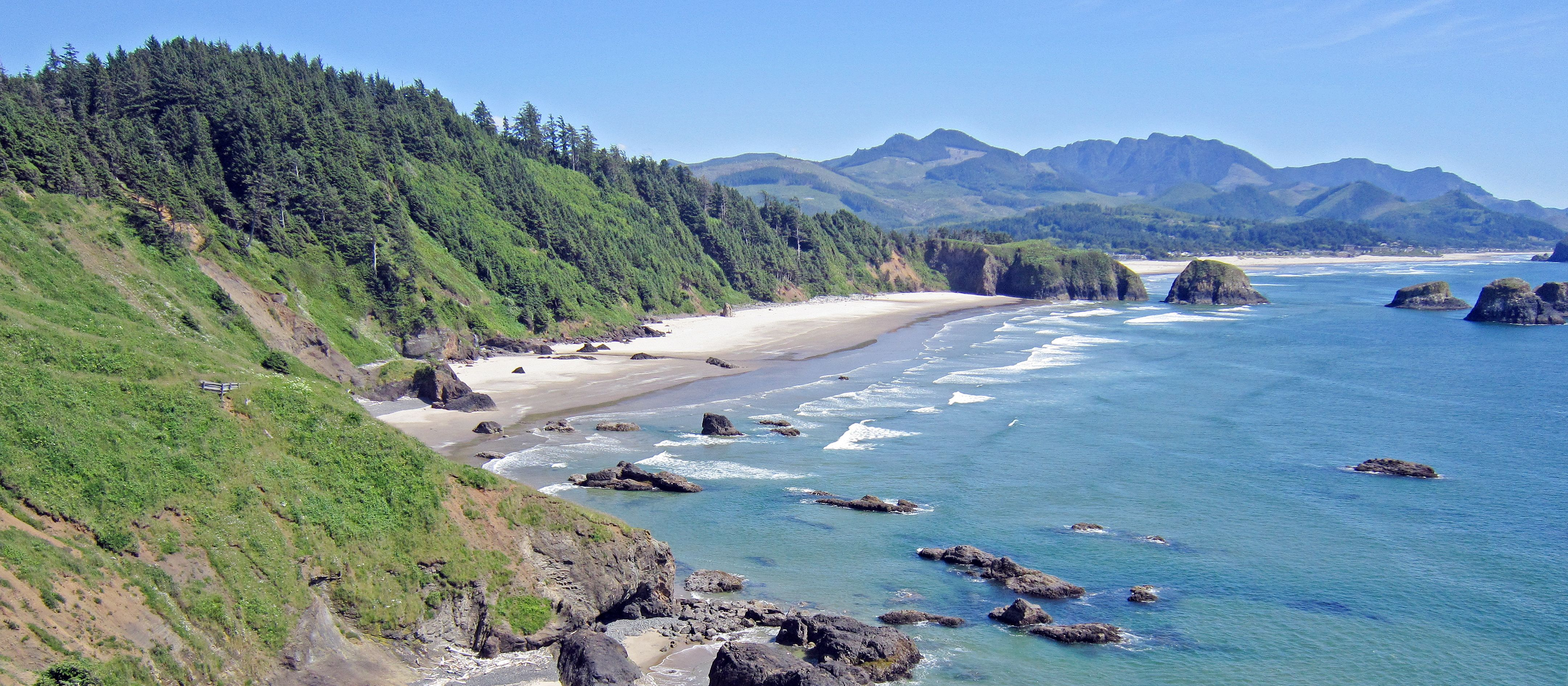 Einsame Natur am Cannon Beach