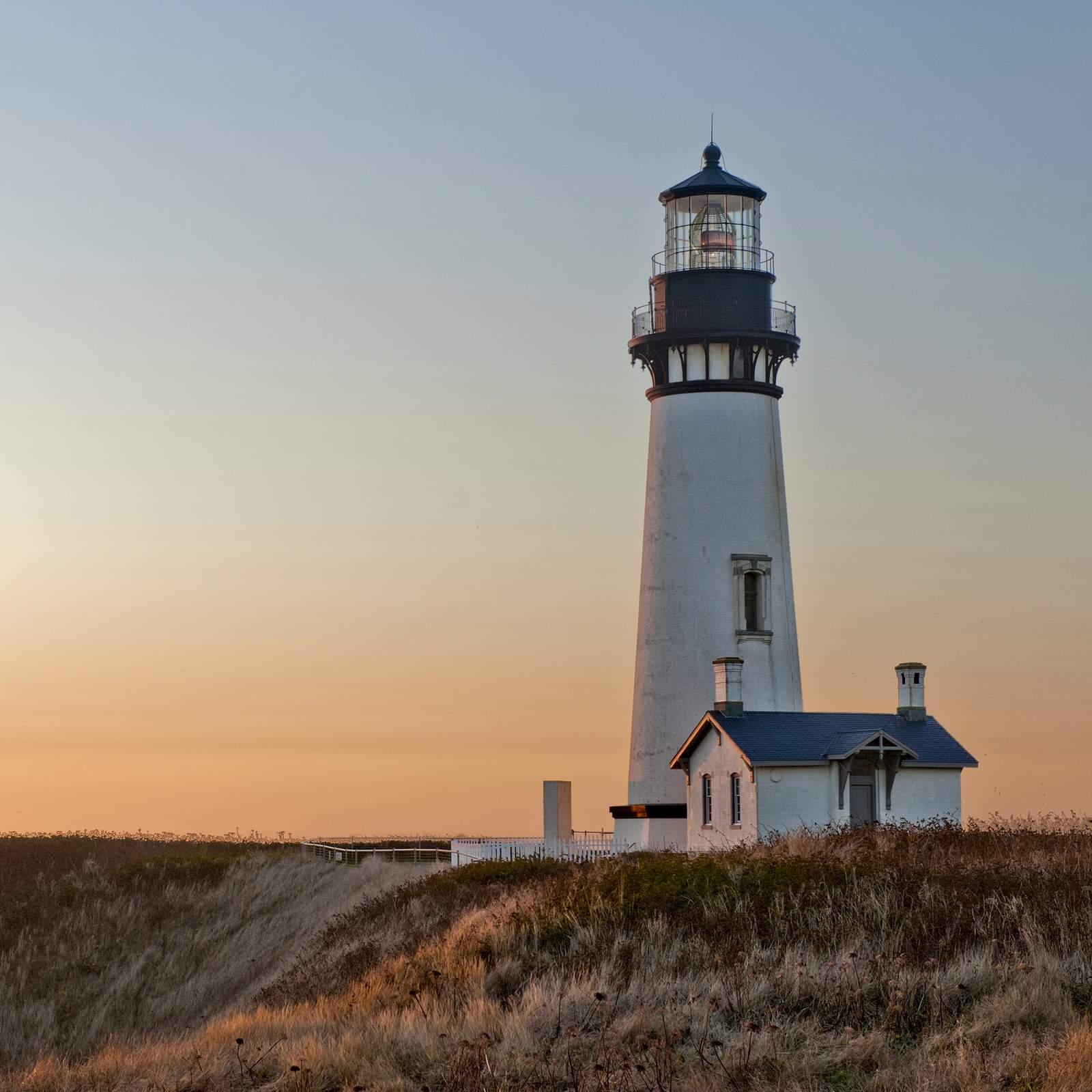 Yaquina Head Lighthouse,Oregon Coast,Oregon,USA.