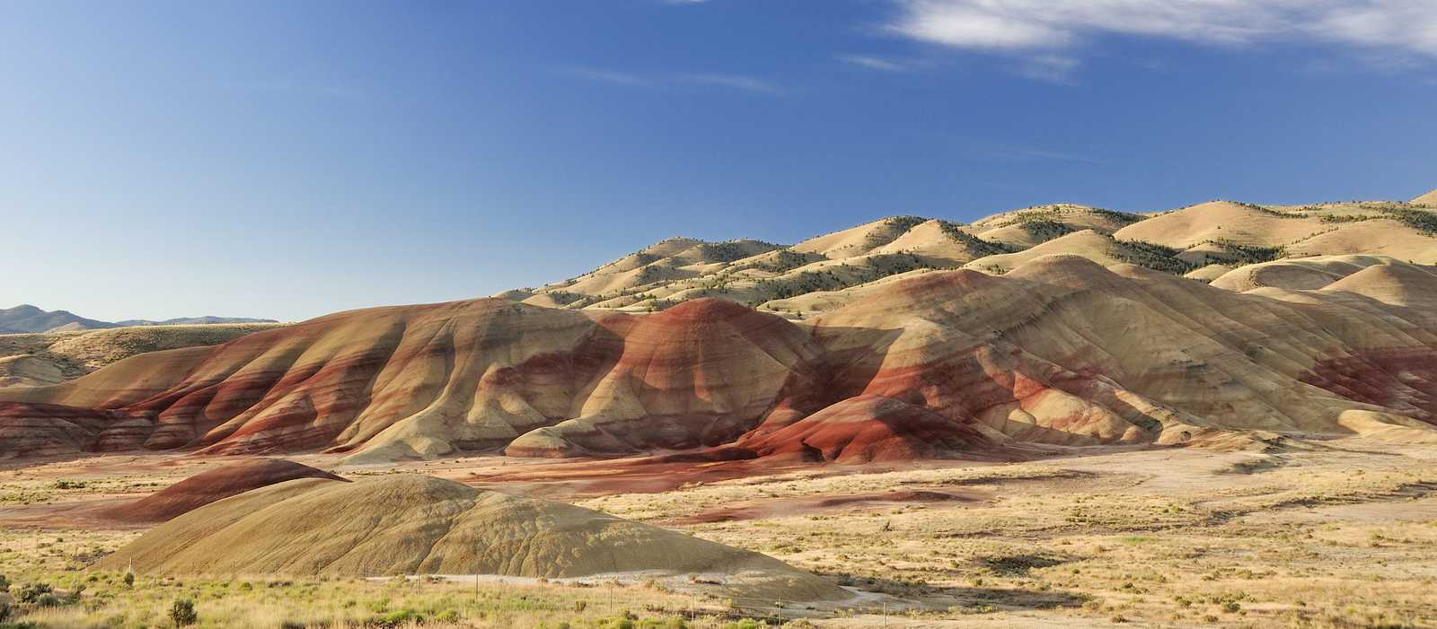 Die Painted Hills im John Day Fossil Beds National Monument in Oregon