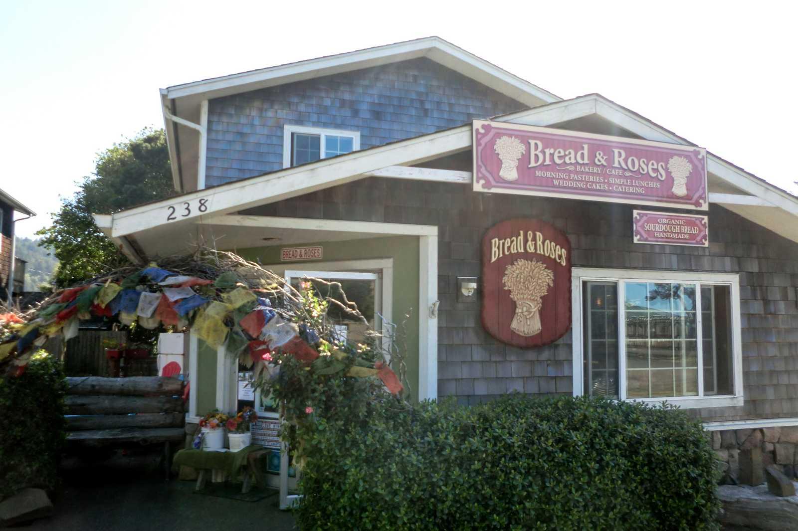 Die Bread & Roses Bäckerei in Yachats, Oregon